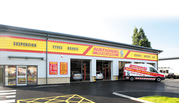 National Tyres &amp Autocare Branch