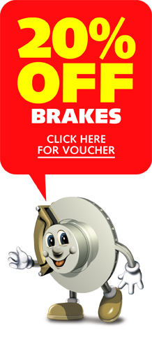 20% off brakes