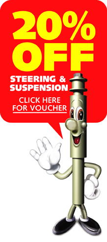 20% off Steering & Suspension