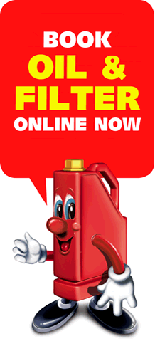 Book oil & filter online now
