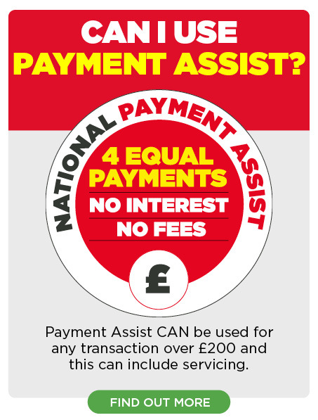 Payment Assist available on servicing