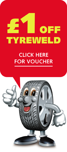 £1 off Tyreweld