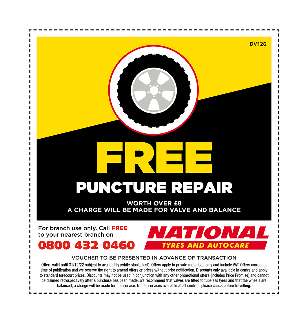 puncturerepair voucher